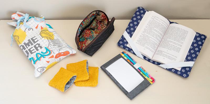 Des objets pratiques au quotidien pouvant se réaliser avec des chutes de tissu